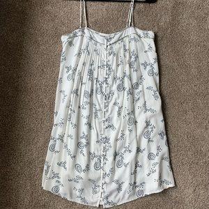 NWT embellished paisley print dress